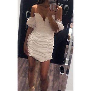 cca5b355ffb For Love And Lemons Dresses - NWT For Love and Lemons Jackson Shirred Mini  Dress